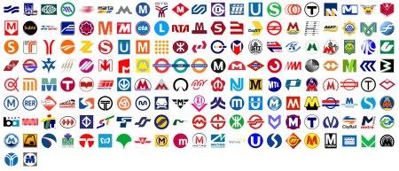 Metrôs - Logos